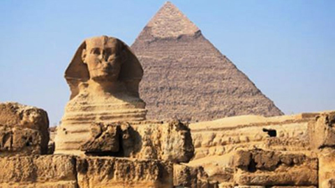 The Sphinx and Giza Pyramid thumbnail