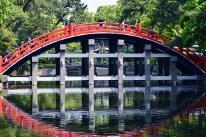 Sumiyoshi Taisha Drum Bridge thumbnail