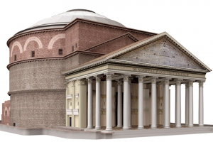 Pantheon in 3d thumbnail