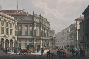 Teatro alla Scala Historic Illustration thumbnail
