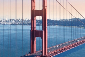 Golden Gate Bridge Areal View thumbnail